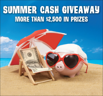 Enter to Win <span>Summer Cash Contest!</span>