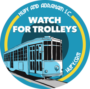 Watch For Trolleys - Get Your FREE Sticker Now