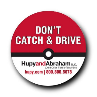 "Get Your FREE ""Don't Catch & Drive"" Bumper Sticker"