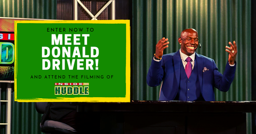 Enter to Win for Your Chance to Meet Donald Driver!