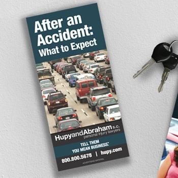 FREE Brochure - After an Accident: What to Expect