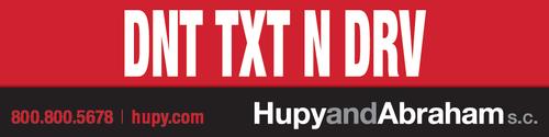 "Get Your FREE ""DNT TXT N DRV"" Bumper Sticker!"