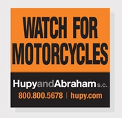 "Get Your FREE ""Watch for Motorcycles"" Sticker"