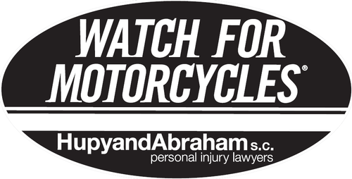 "Order Your Free ""Watch For Motorcycles"" Sticker – Black Vintage Style"