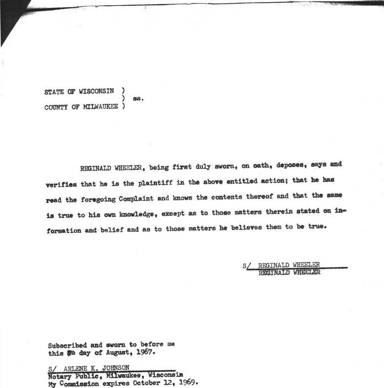 Case Affidavit, August 7,