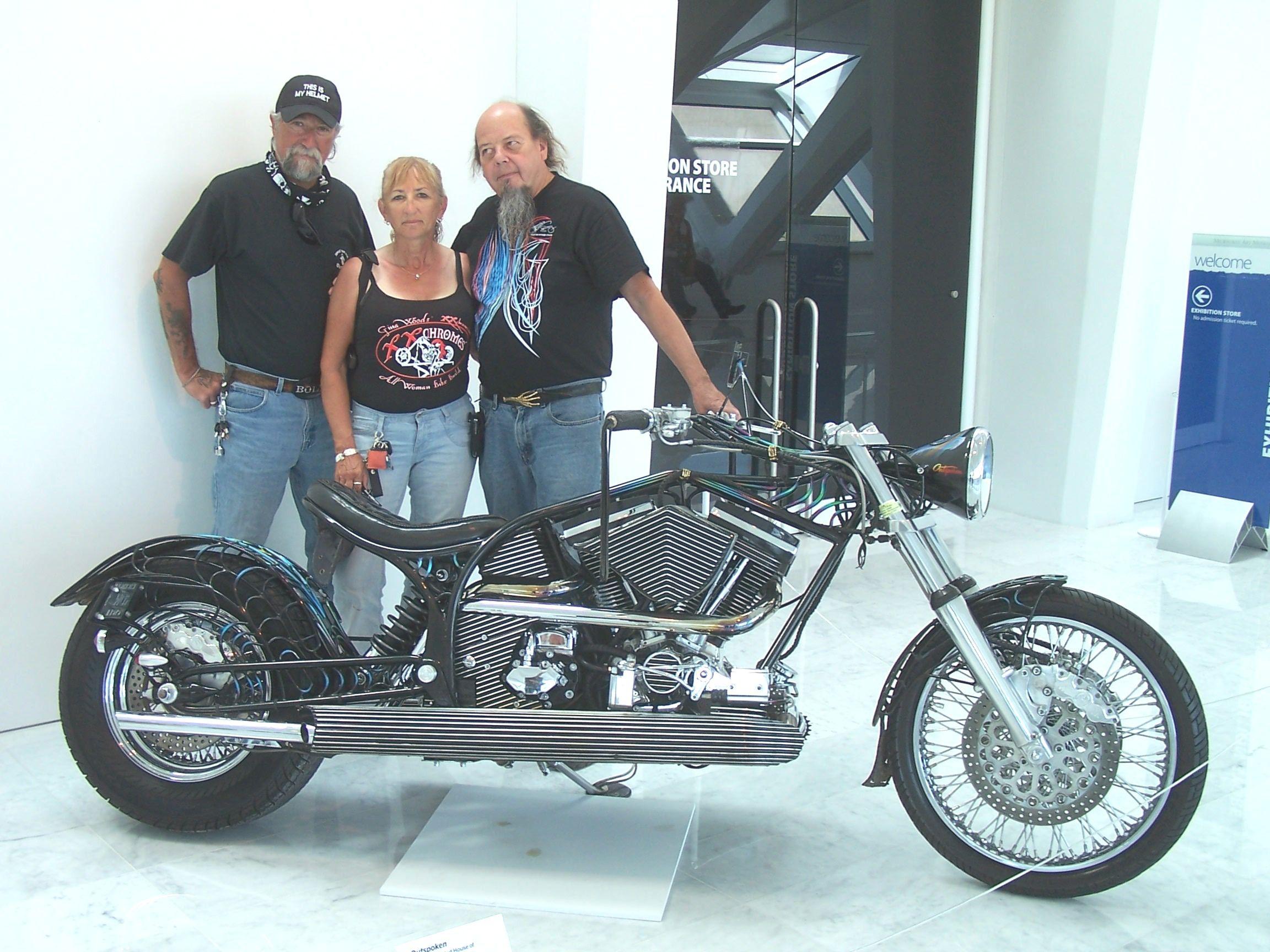 Ron Finch with Tony Pan and Vicki Sanfelipo