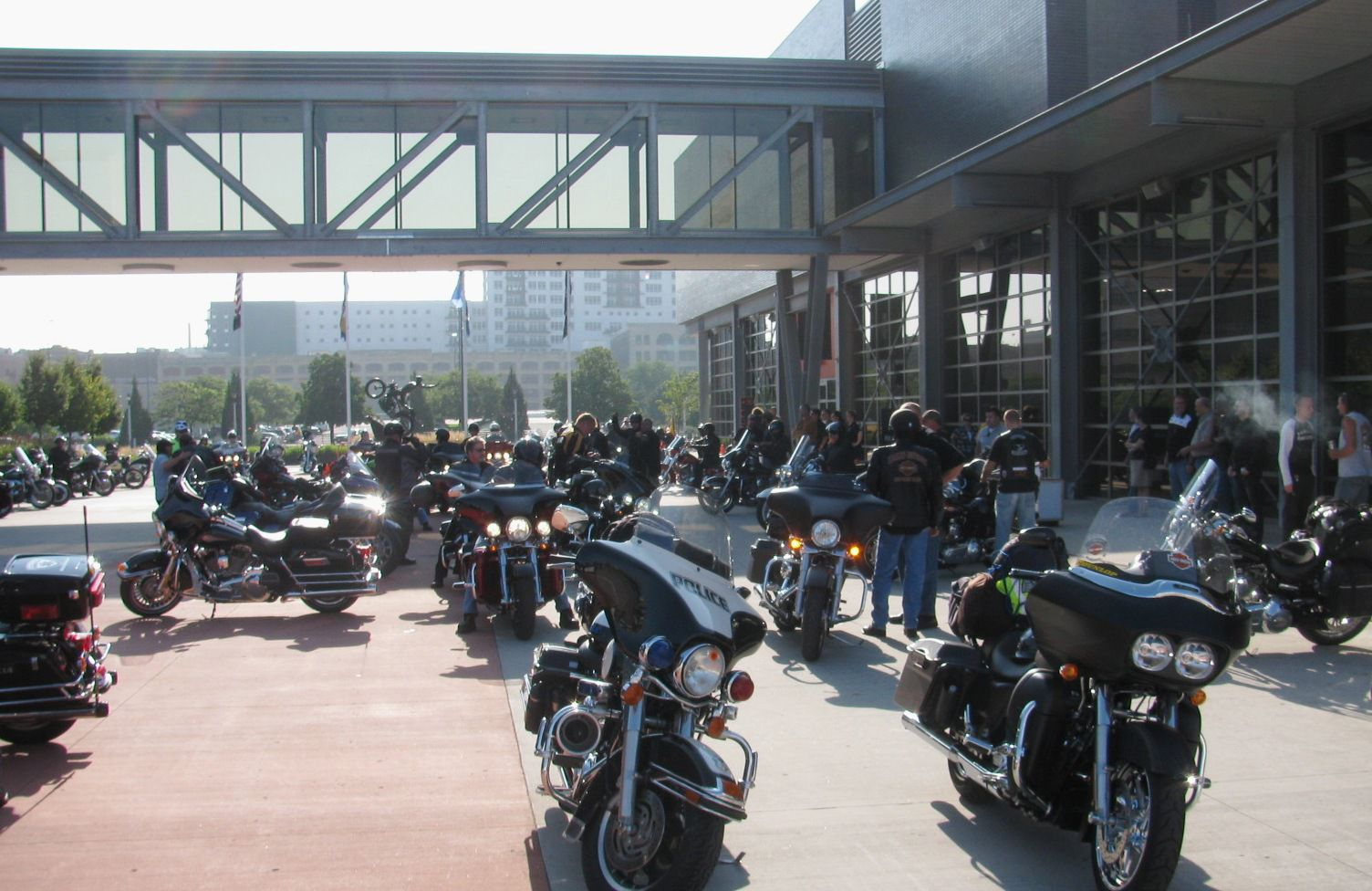Riders assemble at HD Museum for start of ride to Sturgis 2010