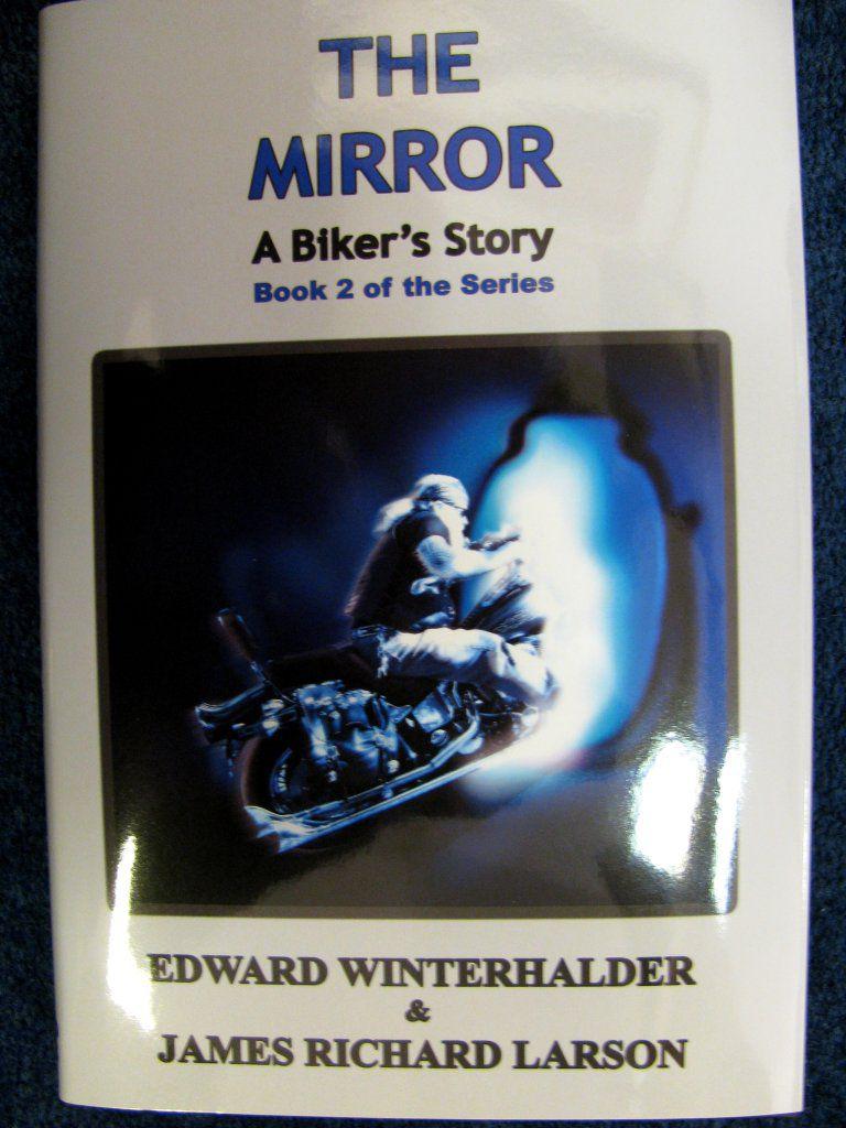 copy of James Richard Larson's latest novel