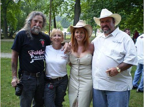 Tony And Vicki With Newlywed Christina And Stormin Norman
