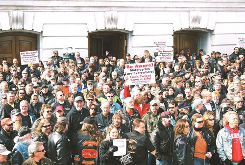Hundreds of Riders Attend ABATE Lobby Day